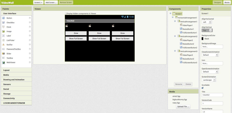 MIT App Inventor 2 2.3.0 - PC用ダウンロード無料