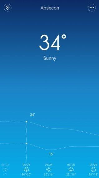 MIUI Weather