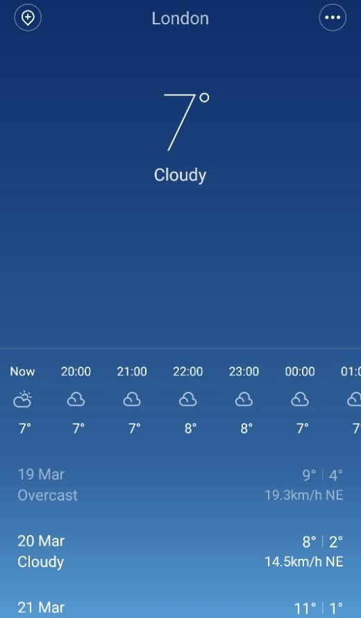 MIUI Weather 10 1 16 0 - Download for Android APK Free