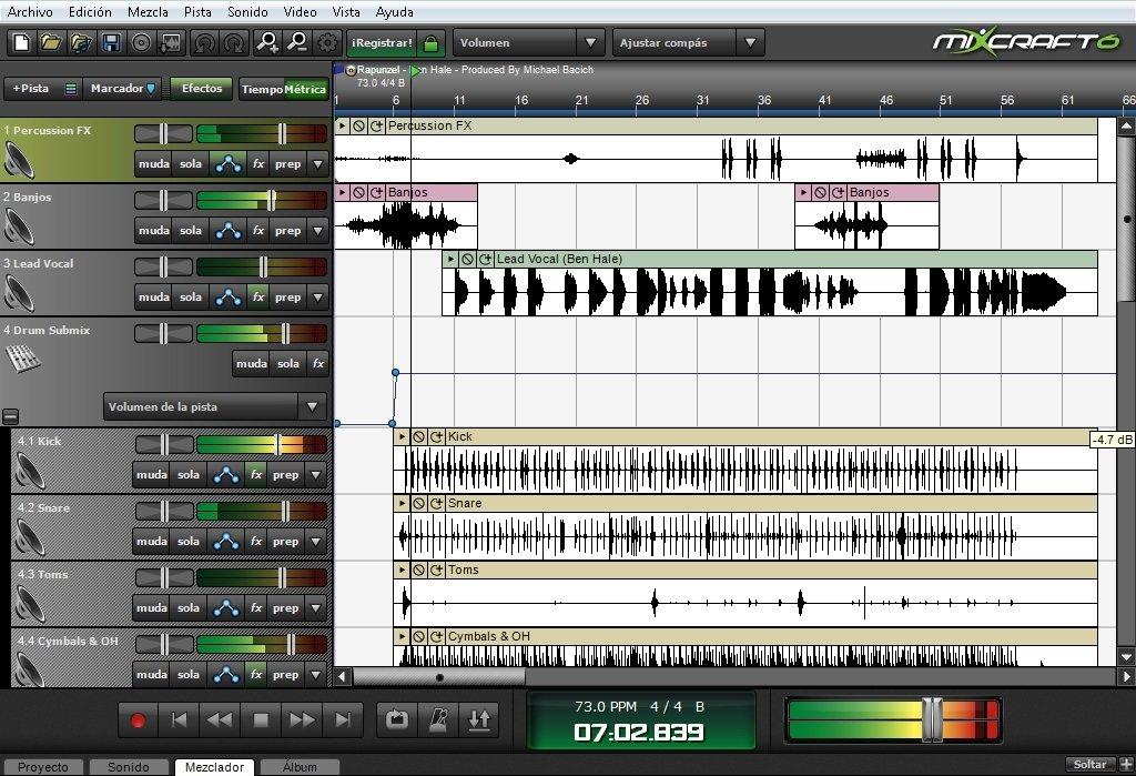 Mixcraft image 5