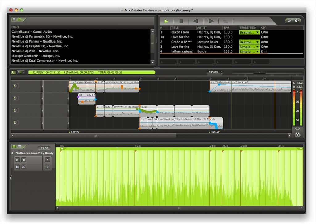 MixMeister 7 7 Fusion - Download for Mac Free