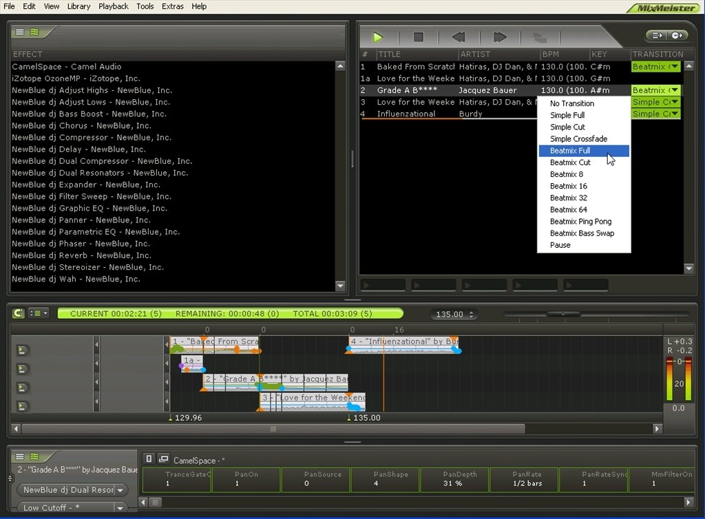 New MixMeister 7 Software