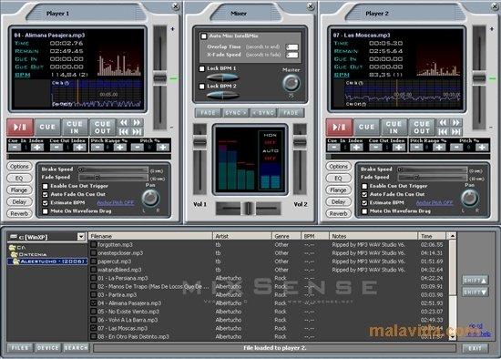 mixsense dj studio 1.0 1
