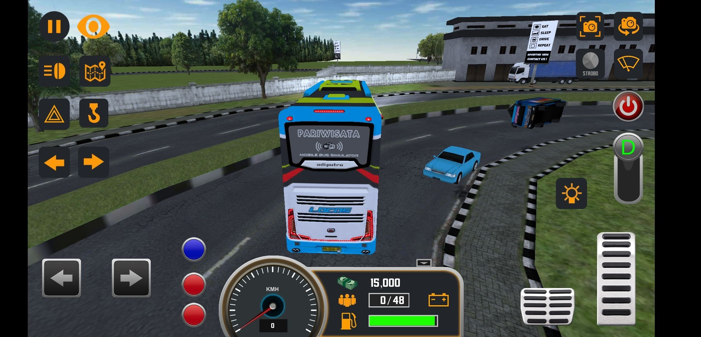 Mobile Bus Simulator 1.0.3 - Download for Android APK Free