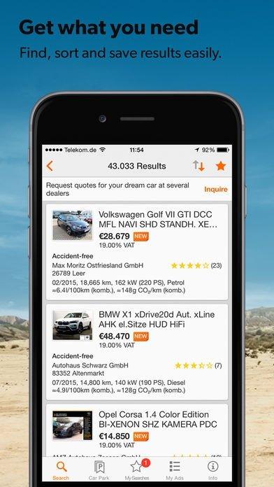 mobile.de - mobile Auto Börse 4.26.1 - Download für iPhone Kostenlos