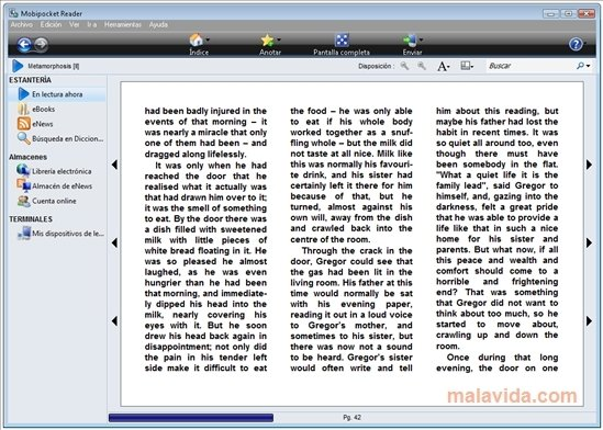 mobipocket reader 6.2 free