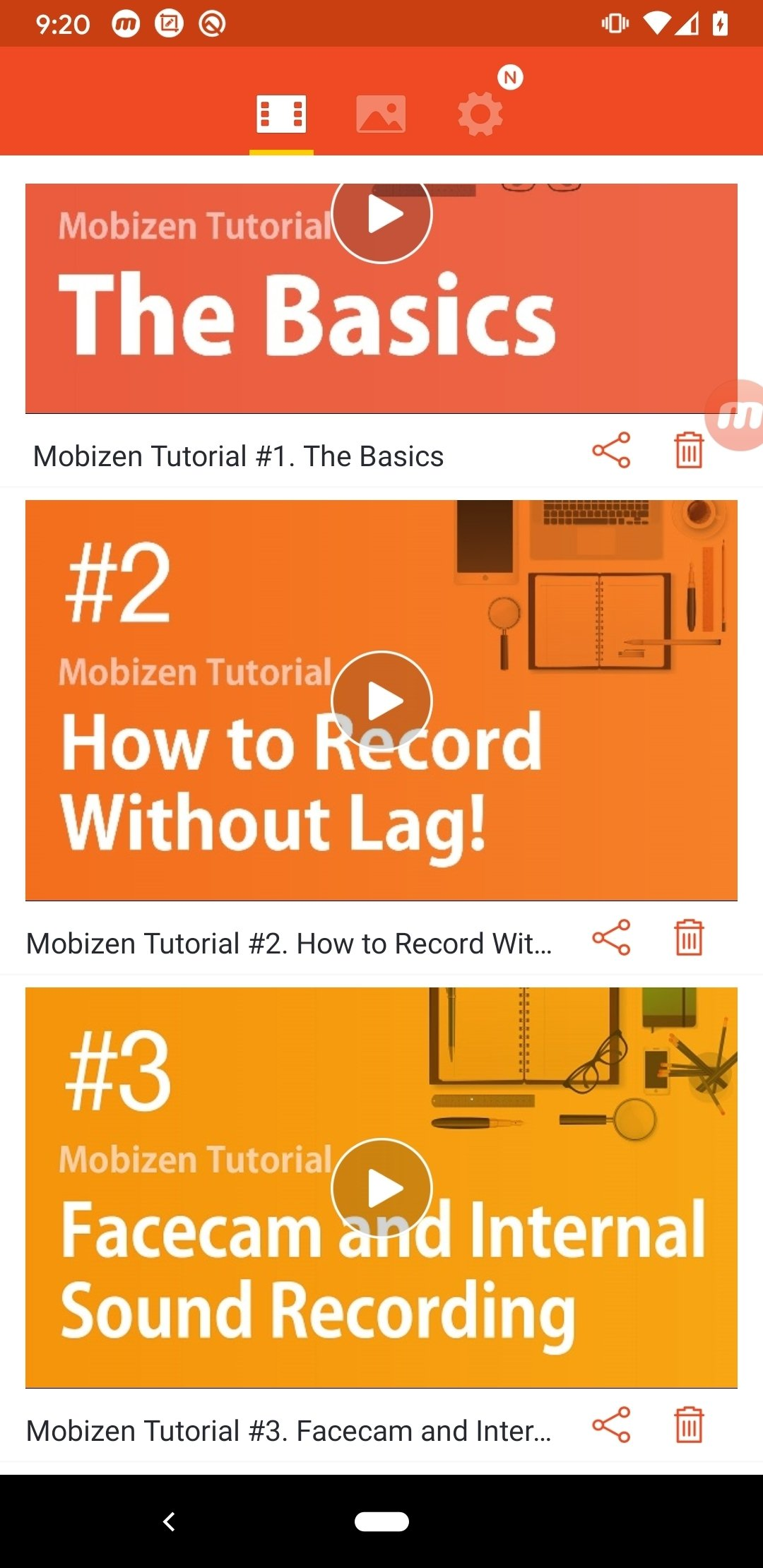 Mobizen Screen Recorder 3 7 0 15 - Download for Android