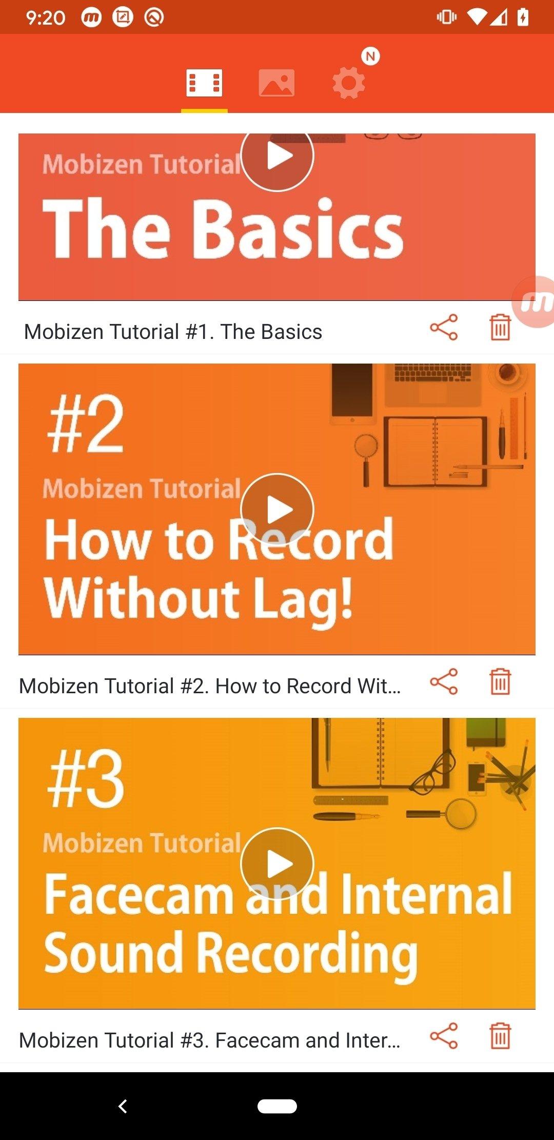 Enregistreur d'écran Mobizen Android image 5