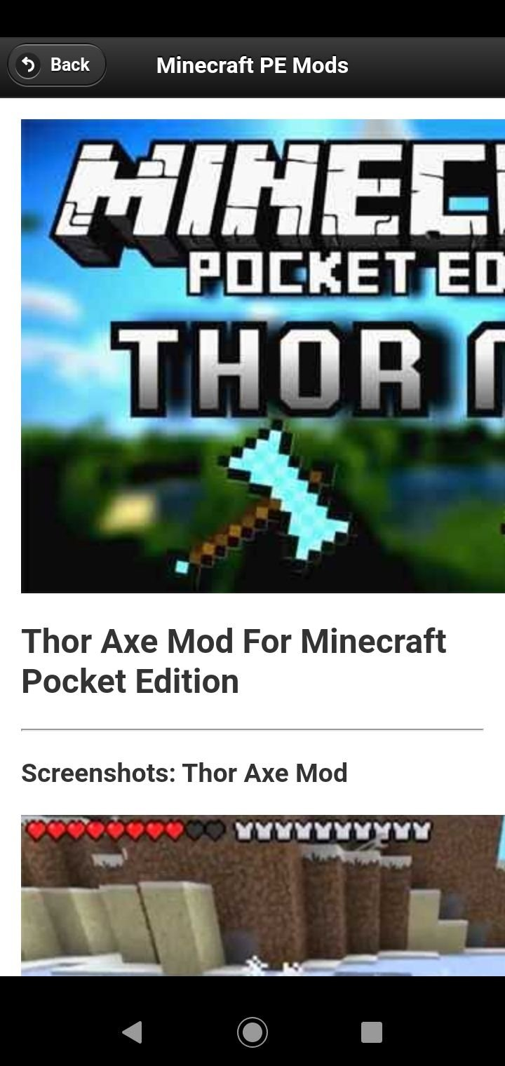 Mods Minecraft Pe Pro 5 1 Download For Android Apk Free