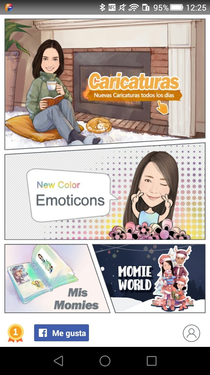 MomentCam Cartoons et Stickers Android image 8