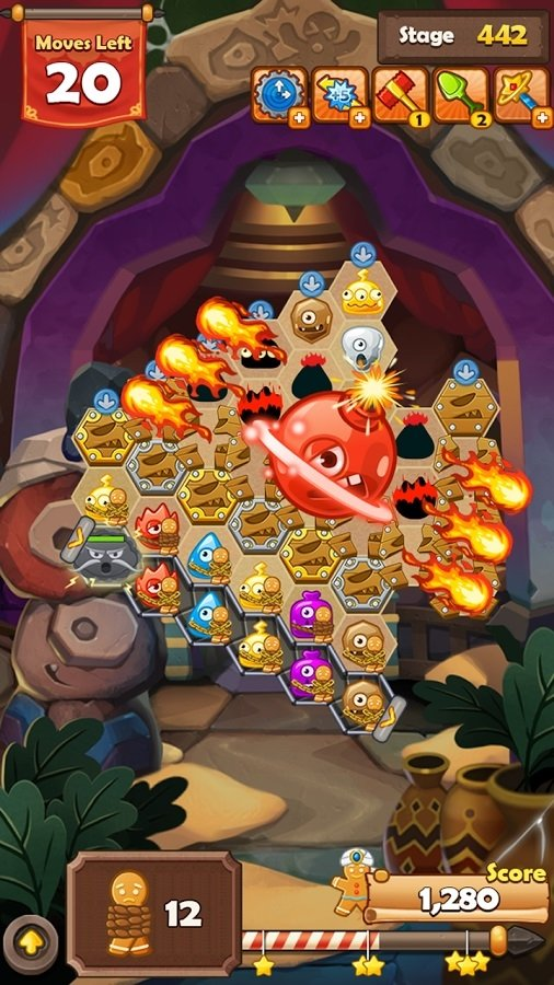 Monster Busters: Hexa Blast Android image 6