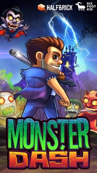 Monster Dash iPhone image 5