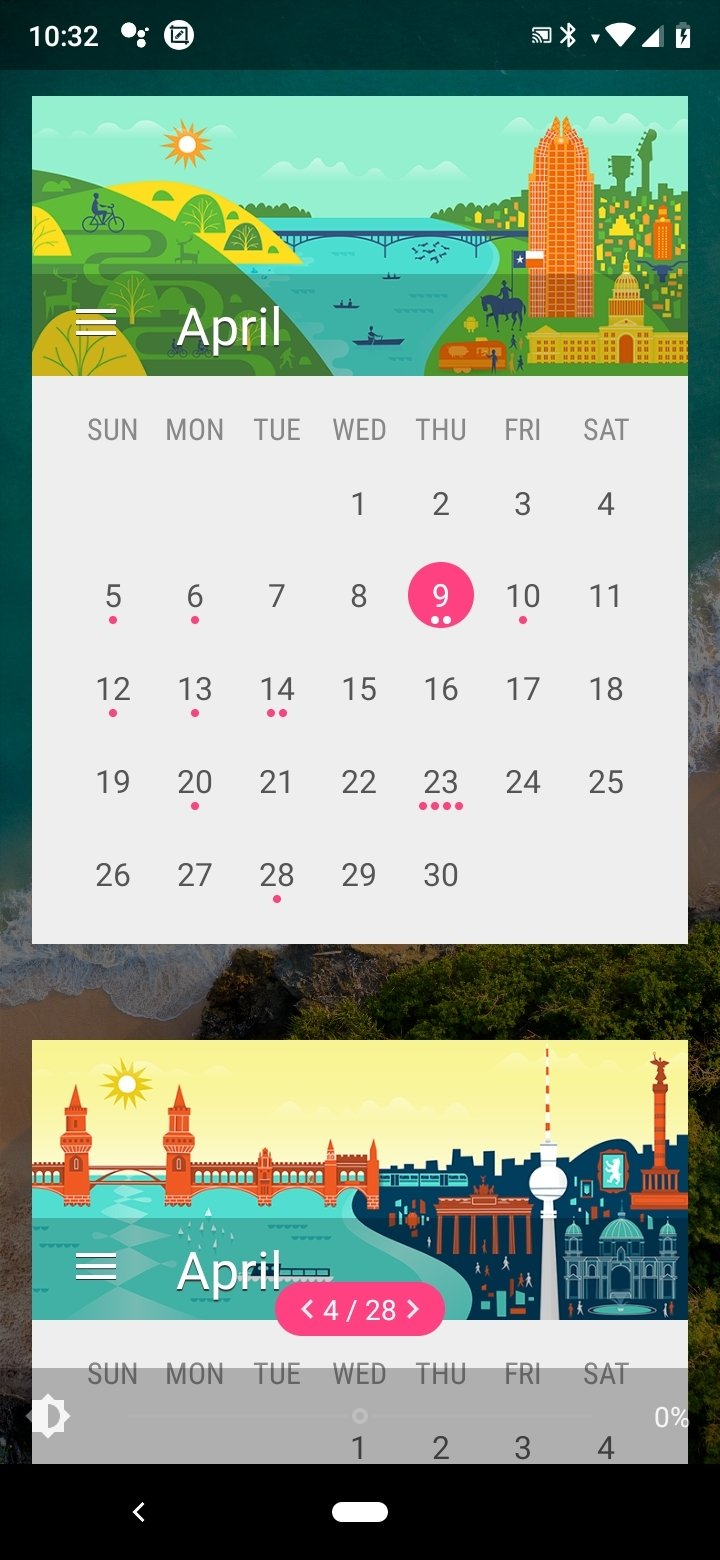 Month: Calendar Widget Android image 4