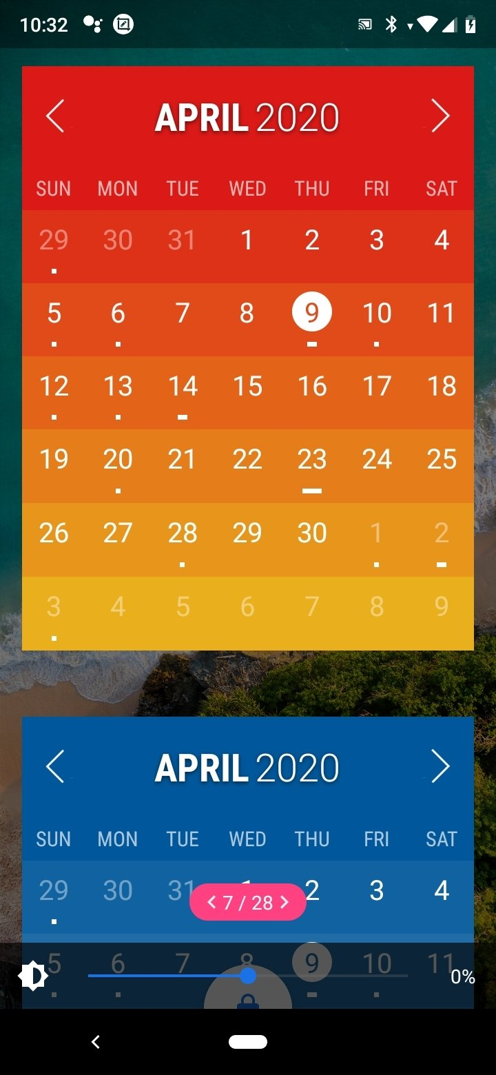 calendar for android free download