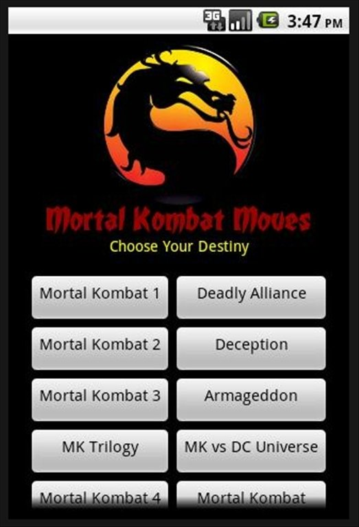 Ultimate mortal kombat apk download youtube.