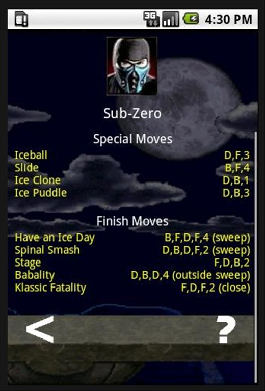 Mortal Kombat Moves 2 2 1 - Download for Android APK Free