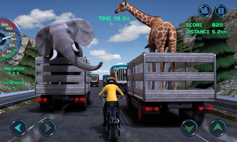 Moto Traffic Race Android image 5