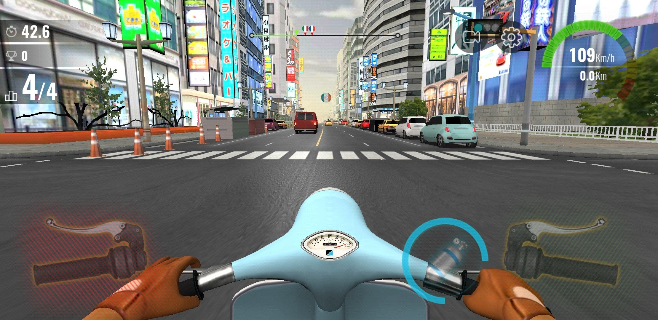 moto traffic race 2 mod apk android 1