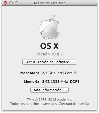macOS Mountain Lion Mac image 2