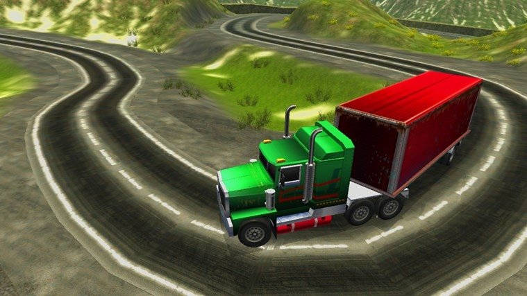Mountain Truck Simulator image 5