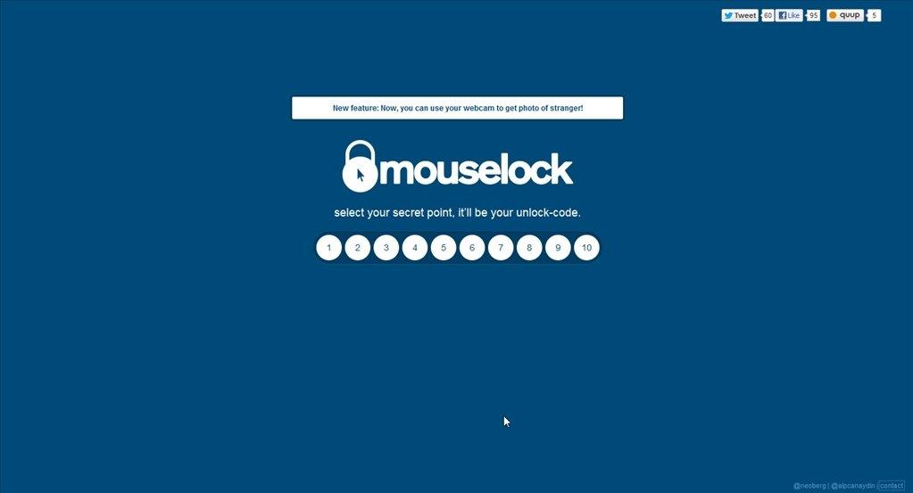 Mouselock Webapps image 4