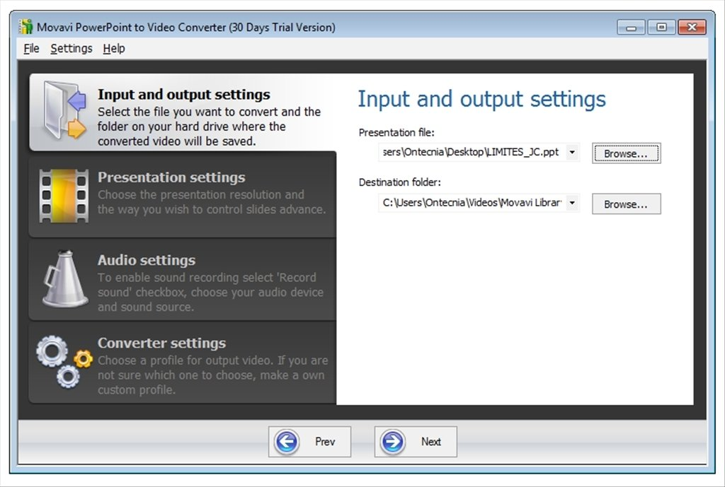 Movavi PowerPoint to Video Converter image 5