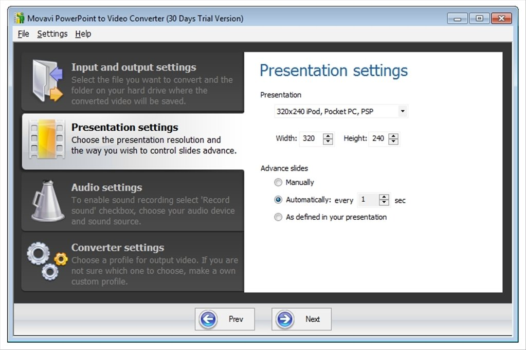 ppt to video converters