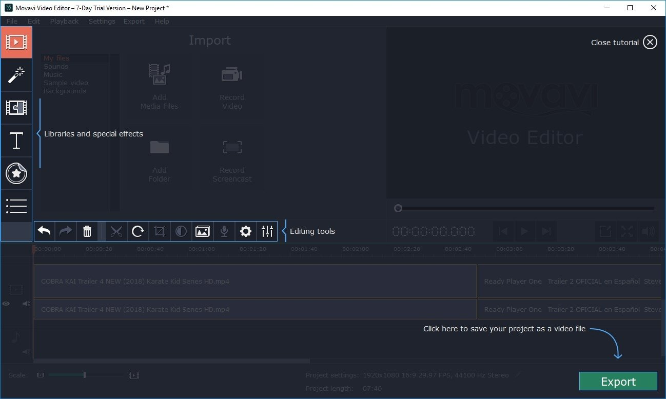 activation key movavi video editor 4.0