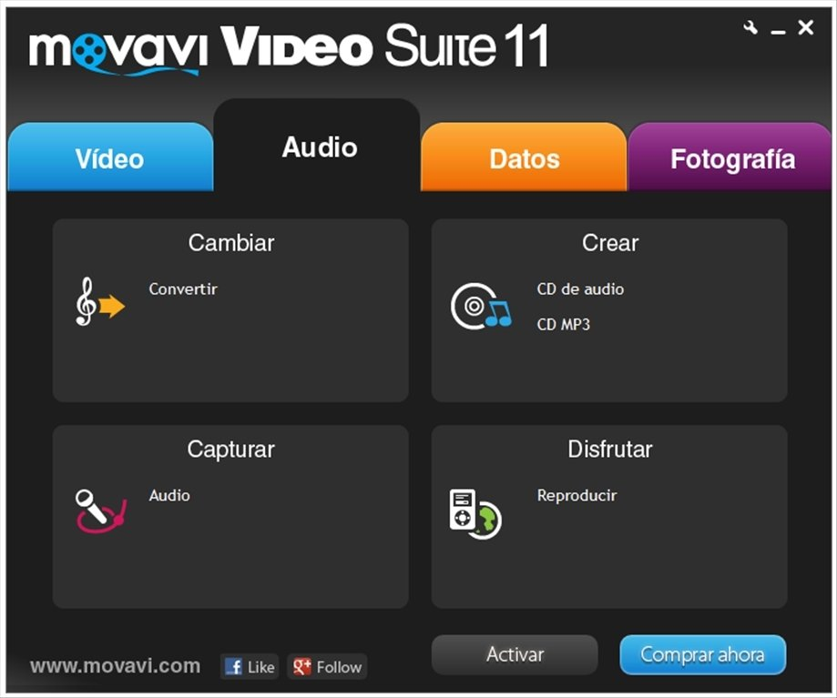 clave de activation movavi video converter 18