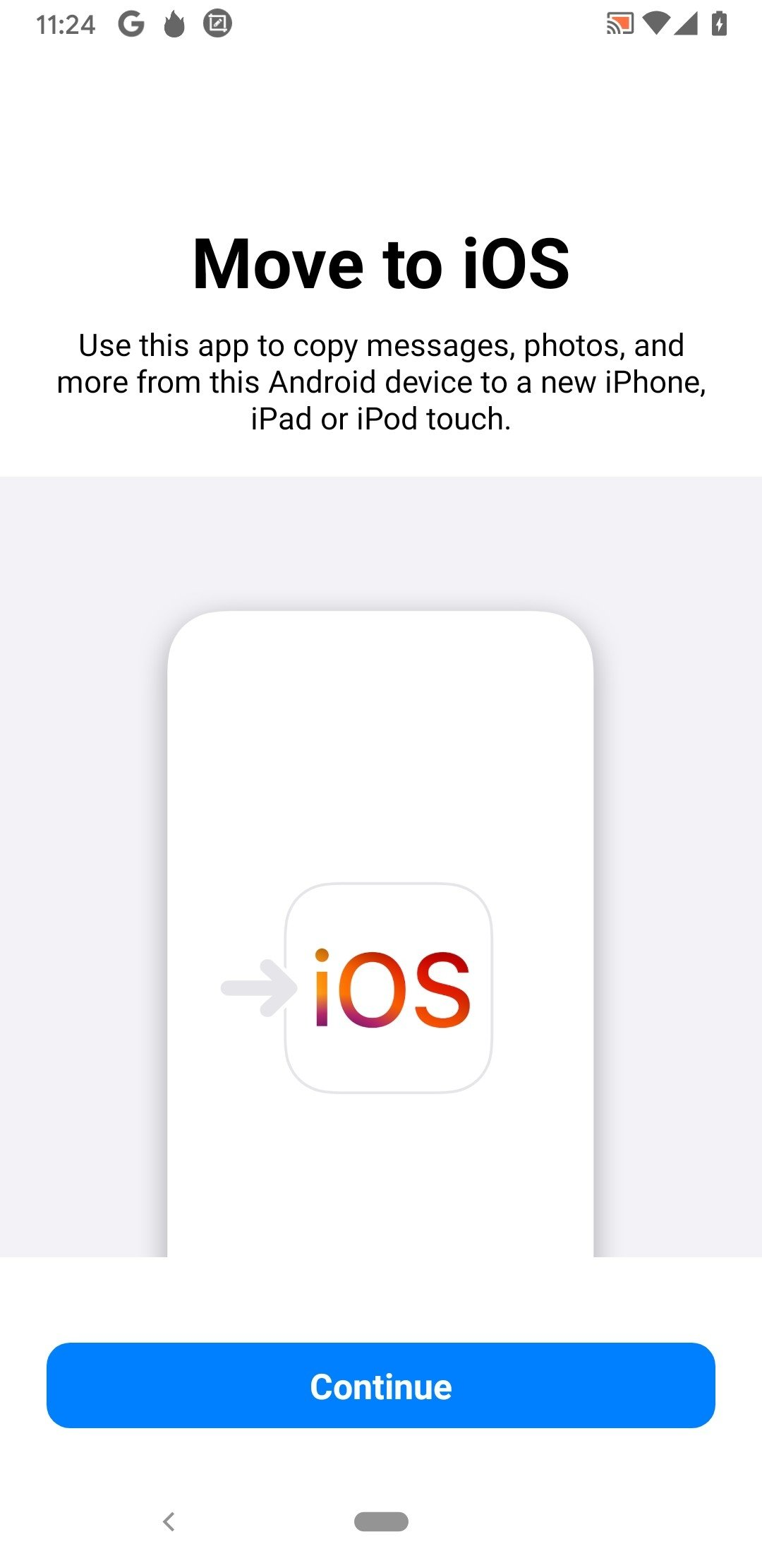Move to iOS 2 10 0 - Download for Android APK Free