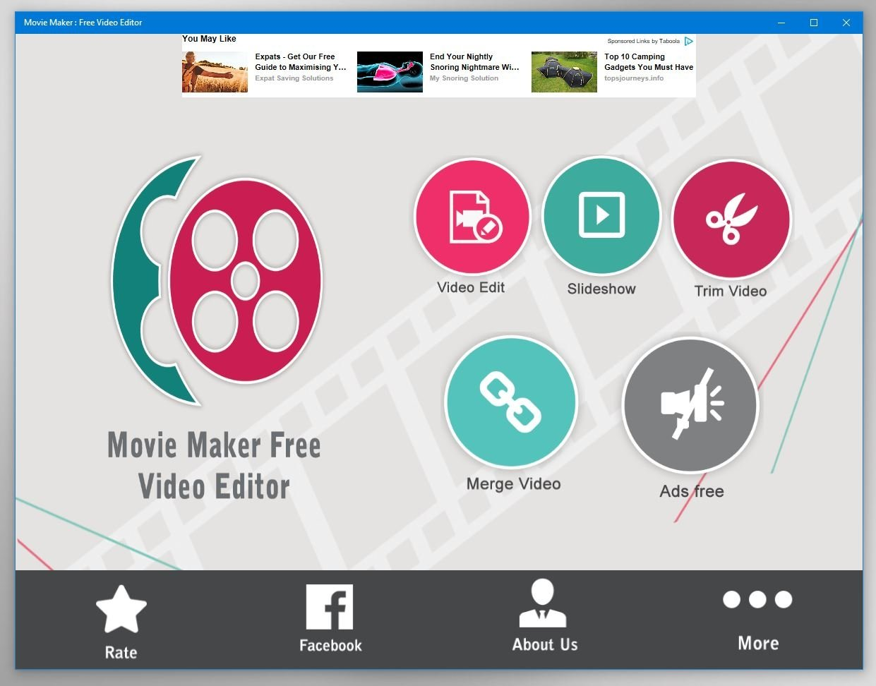 Movie Maker - Free Video Editor 1 1 30 0 - Download for PC