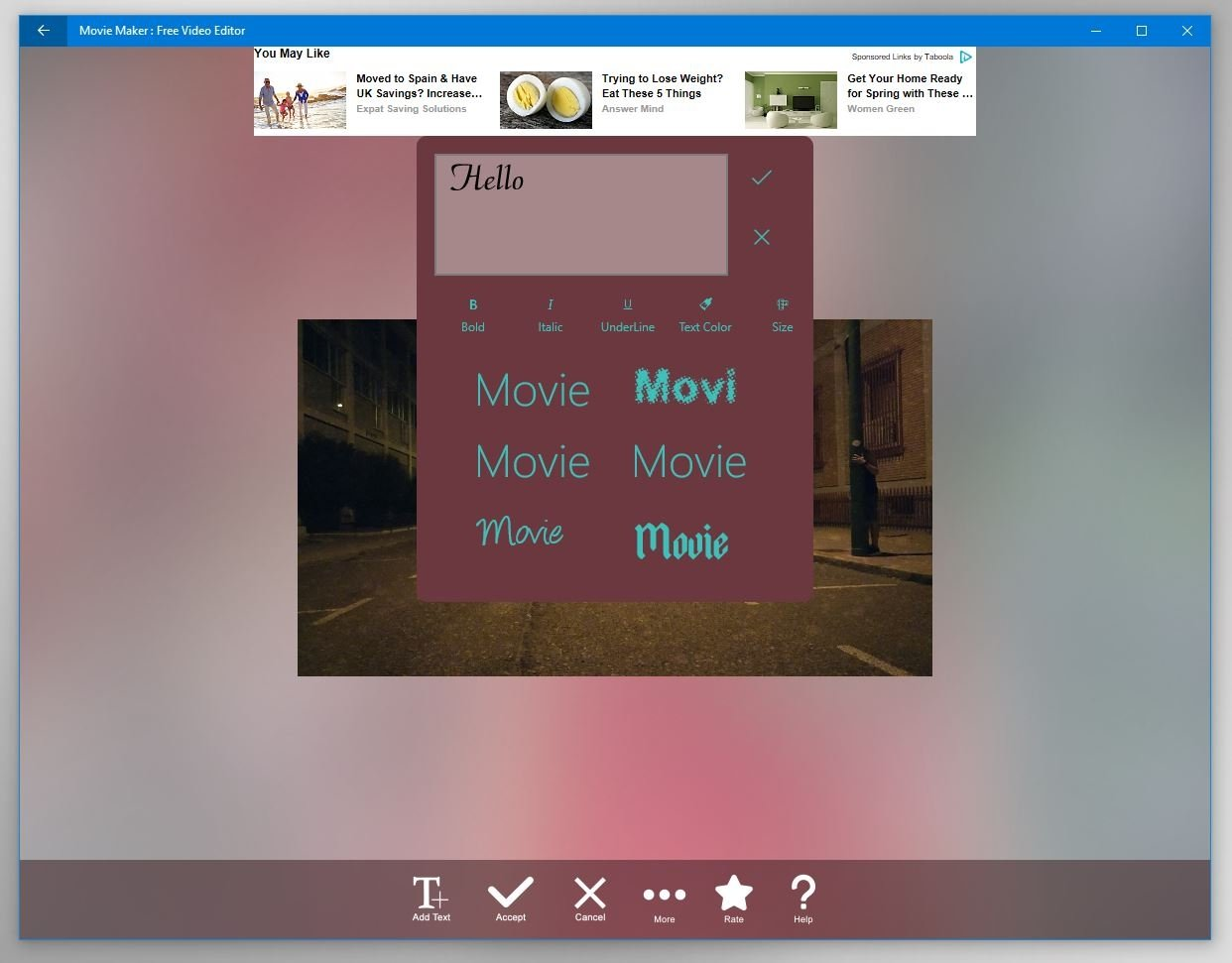 free movie maker app for pc