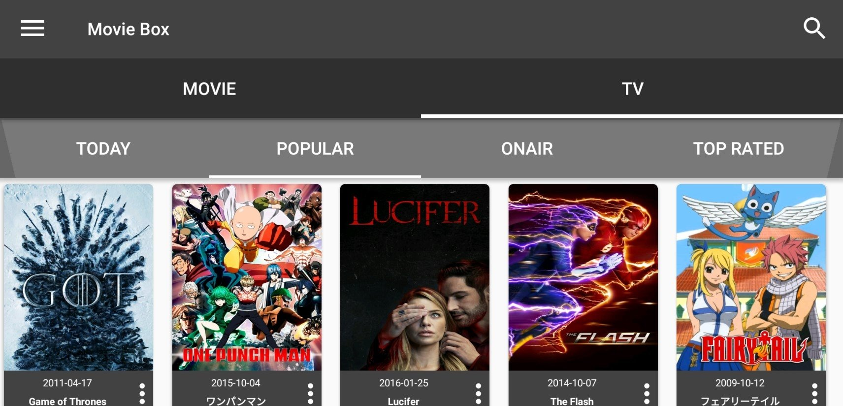 MovieBox 7 6 0 - Download for Android APK Free
