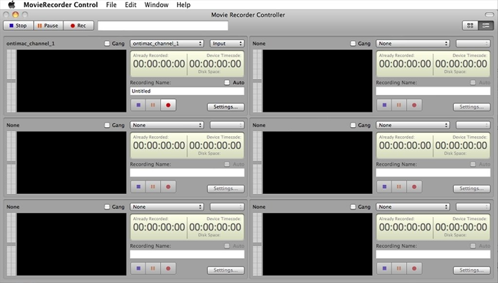 MovieRecorder 4 0 7 - Download for Mac Free