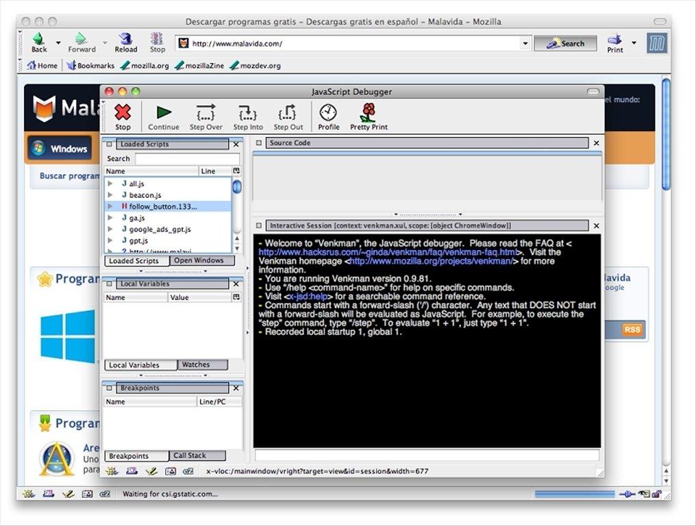 Firefox Mac Os X 10.5.8