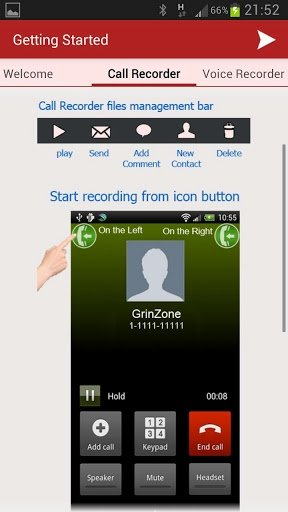 MP3 InCall Recorder & Voice Android image 6
