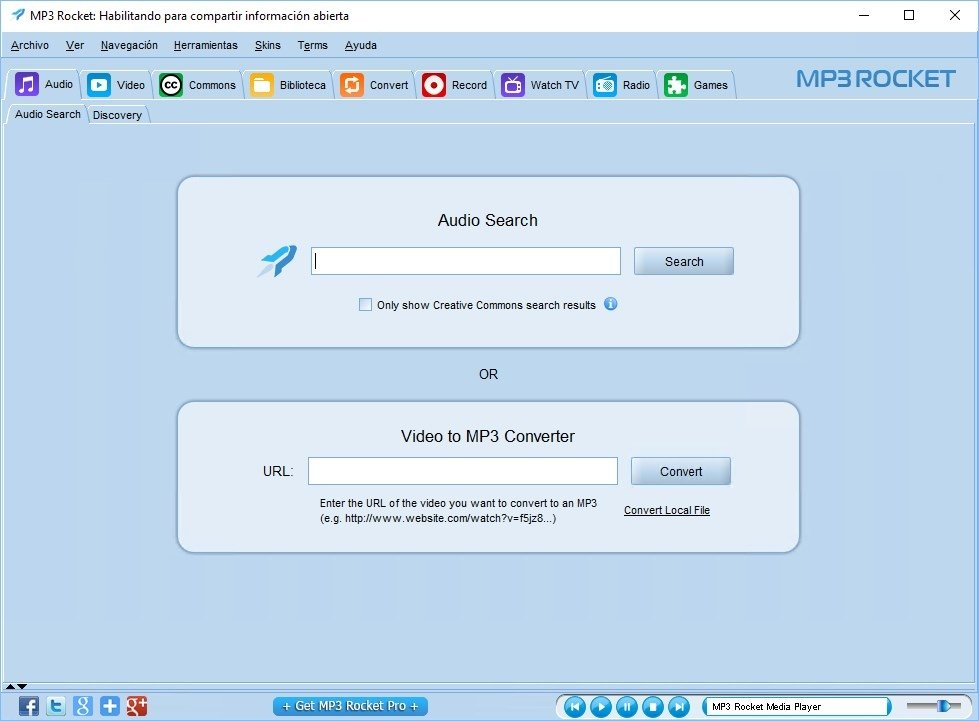 MP3 Rocket 7 4 1 - Download for PC Free