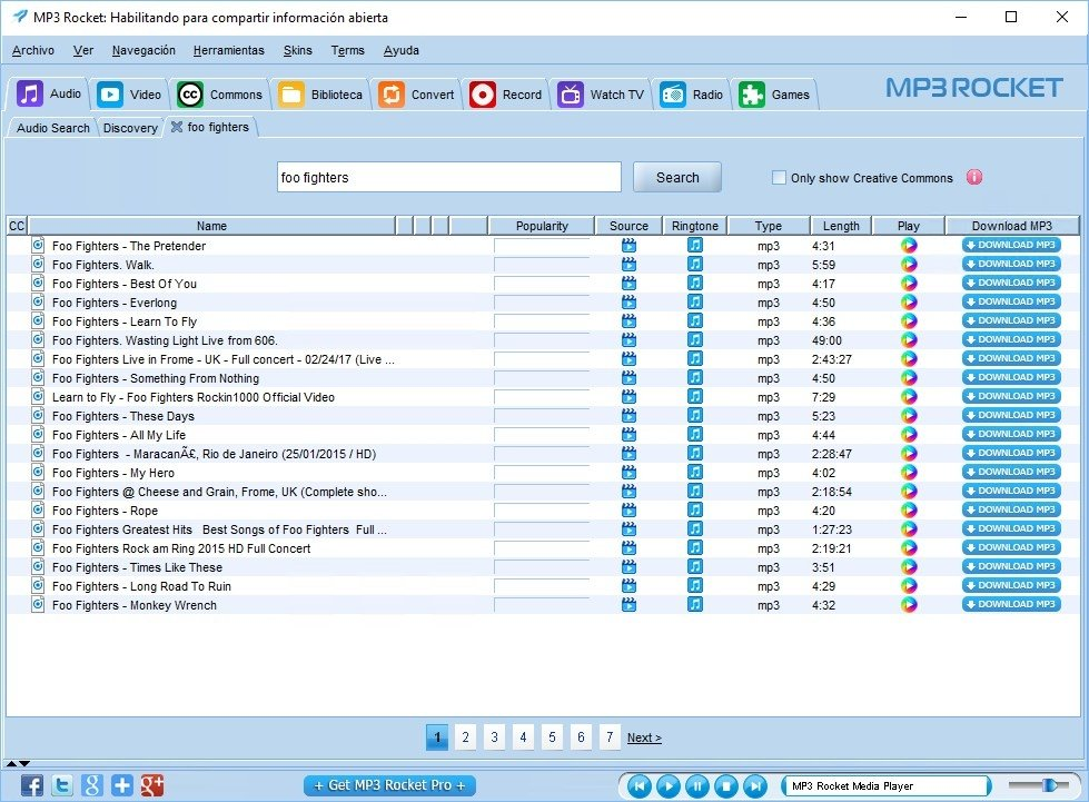 mp3 rocket official site download