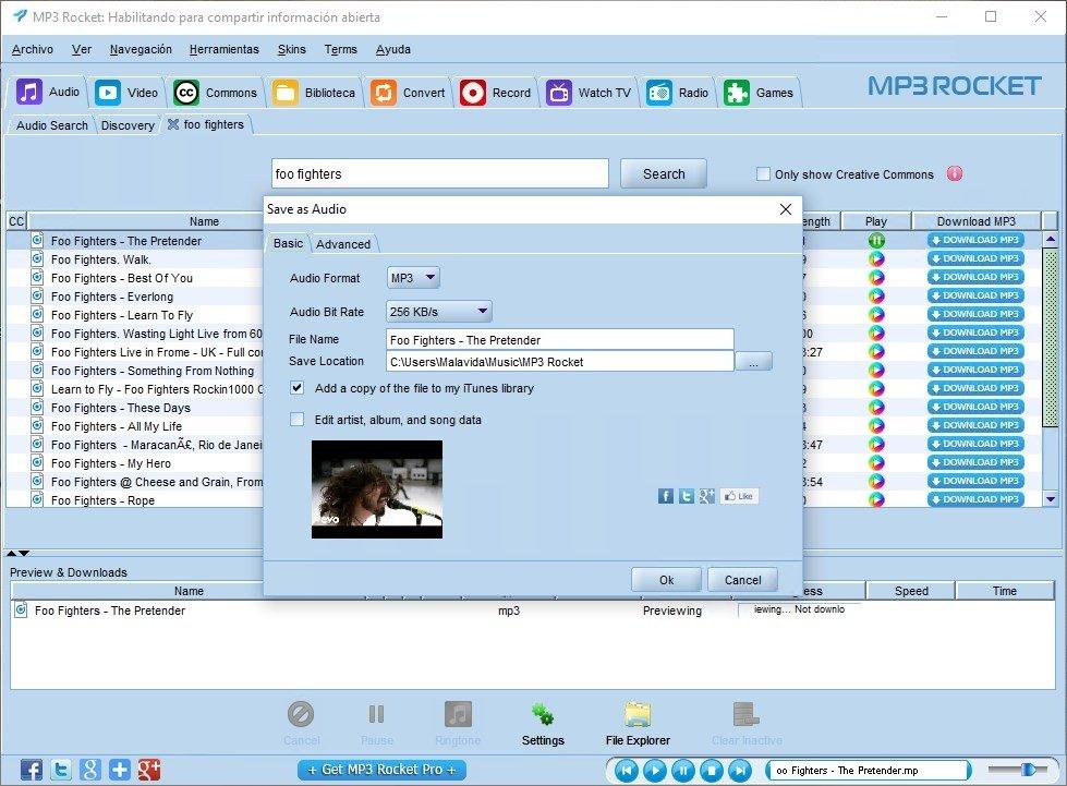 MP3 Rocket 7.4.1 - Baixar Grátis em Português
