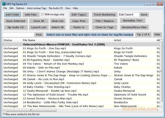 MP3 Tag Express image 4