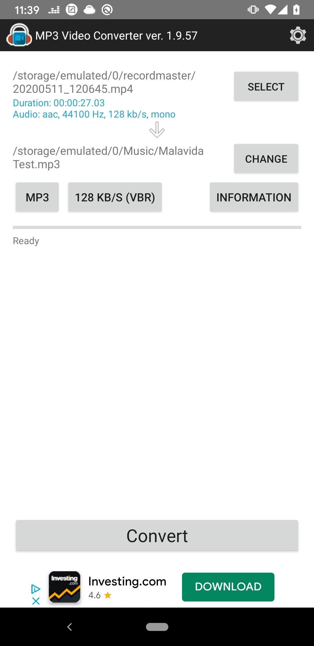 descargar apk mp3 video converter