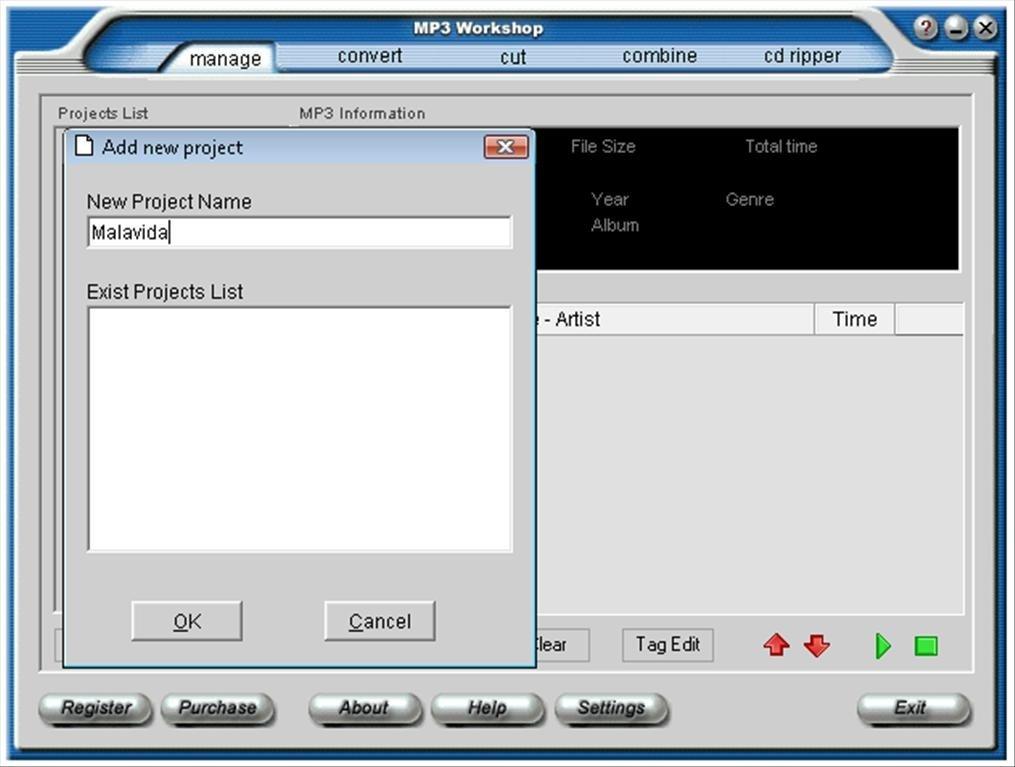 MP3 Workshop