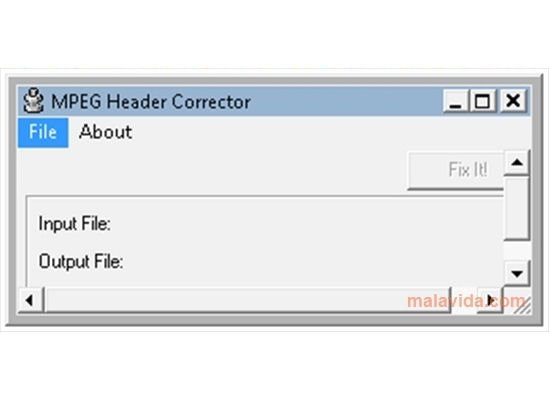 MPEG Header Corrector image 2