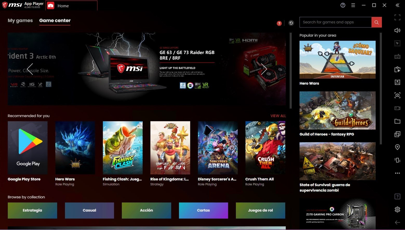 Download Free MSI App Player 4.240.15.6305 – Download for PC Free
