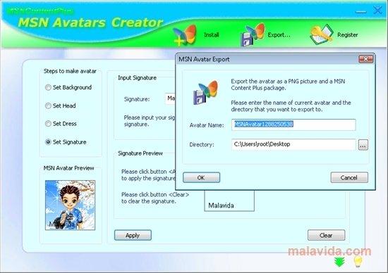 MSN Avatars Creator image 4
