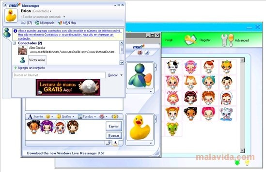 emoticon msn plus