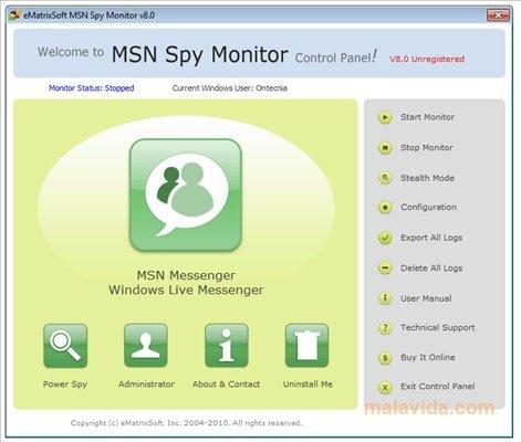 MSN Spy Monitor image 4