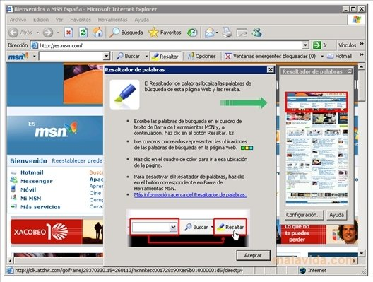 toolbar msn