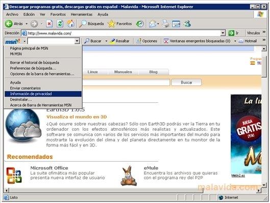 toolbar msn