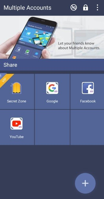 Multiple Accounts 2 7 1 - Download for Android APK Free
